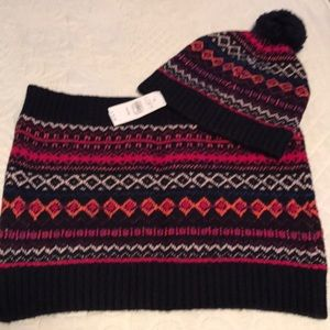 LOFT Hat and Neck Warmer NWT